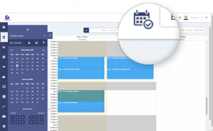 View schedule from anywhere feature