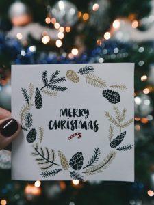 6. Holiday greetings